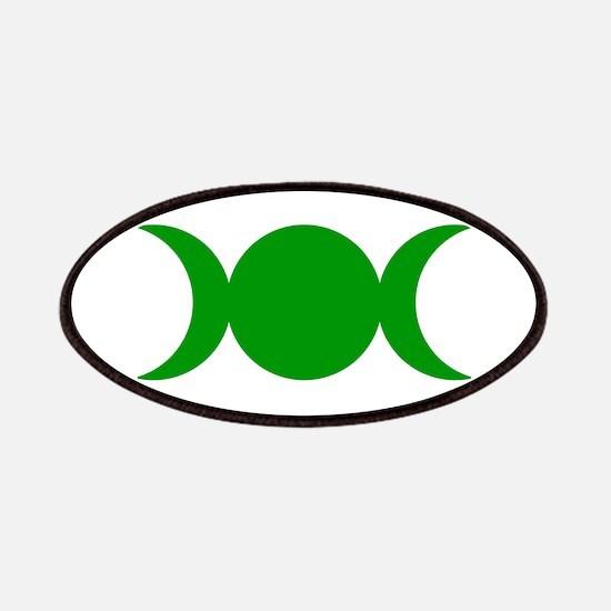 Green Triple Goddess Patch