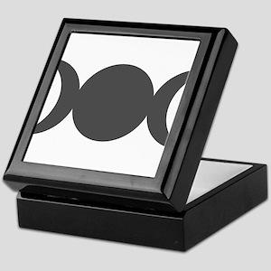 Gray Triple Goddess Keepsake Box