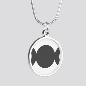 Gray Triple Goddess Necklaces