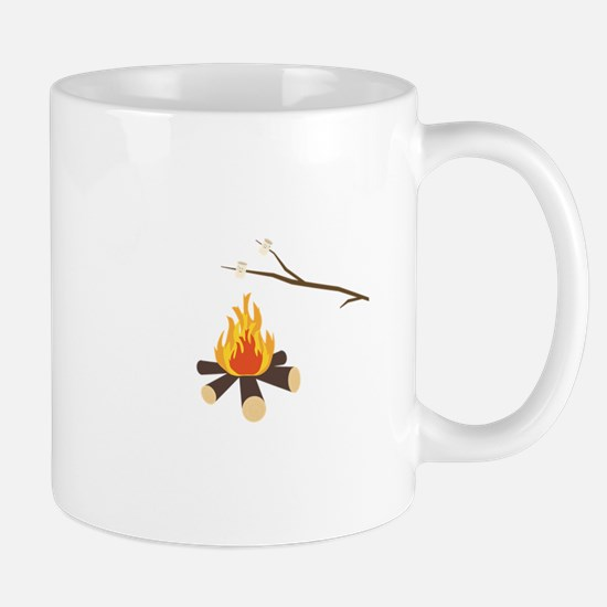Campfire with marshmallows Mugs