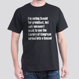 Library of Congress turned into a Casino T-Shirt