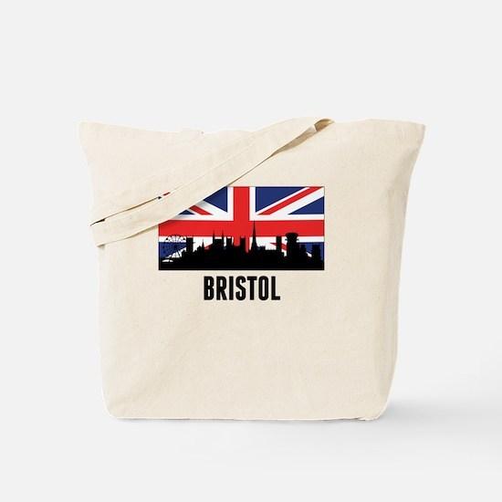Bristol British Flag Tote Bag