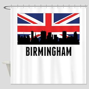 Birmingham British Flag Shower Curtain