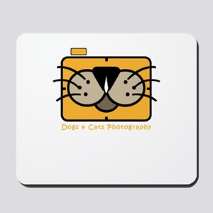 dogs and cats photography Mousepad