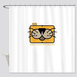 dogs and cats photography Shower Curtain
