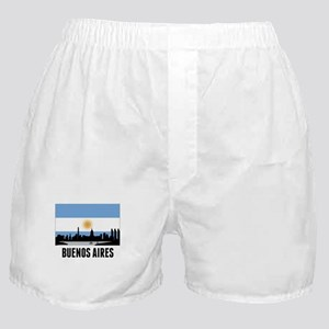Buenos Aires Argentinian Flag Boxer Shorts