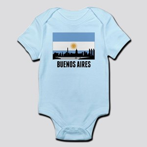 Buenos Aires Argentinian Flag Body Suit