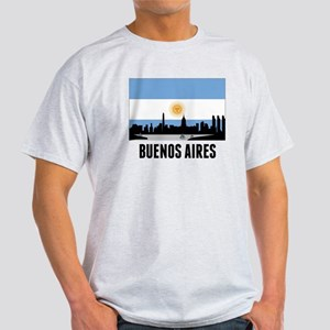 Buenos Aires Argentinian Flag T-Shirt