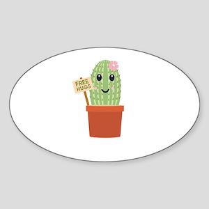 Cactus free hugs Sticker