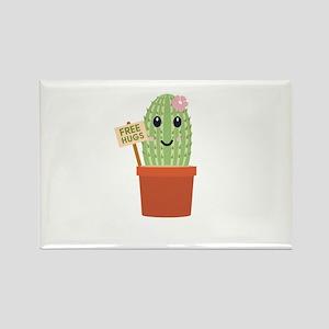 Cactus free hugs Magnets