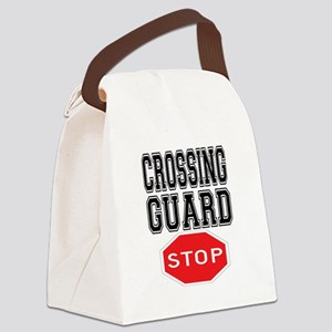Crossing Guard Canvas Lunch Bag
