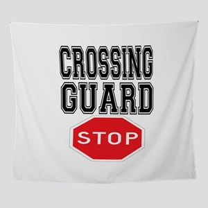 Crossing Guard Wall Tapestry