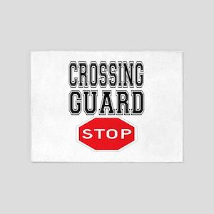 Crossing Guard 5'x7'Area Rug