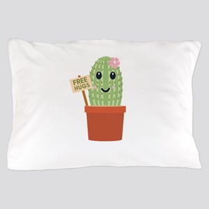 Cactus free hugs Pillow Case