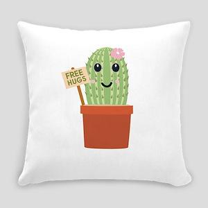 Cactus free hugs Everyday Pillow