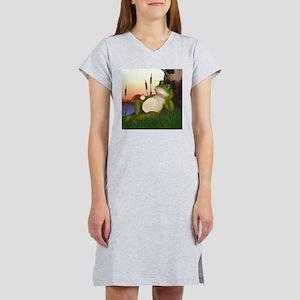 The Frog and the Ladybug Women's Nightshirt