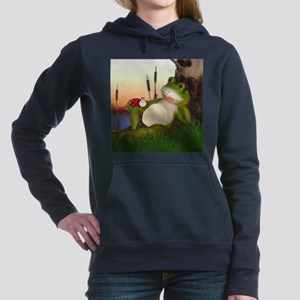 The Frog and the Ladybug Women's Hooded Sweatshirt