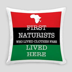 First naturists Everyday Pillow