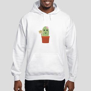 Cactus free hugs Hooded Sweatshirt