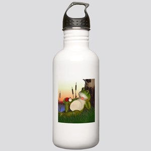 The Frog and the Ladyb Stainless Water Bottle 1.0L