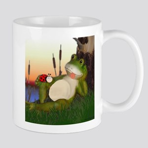The Frog and the Ladybug Mugs