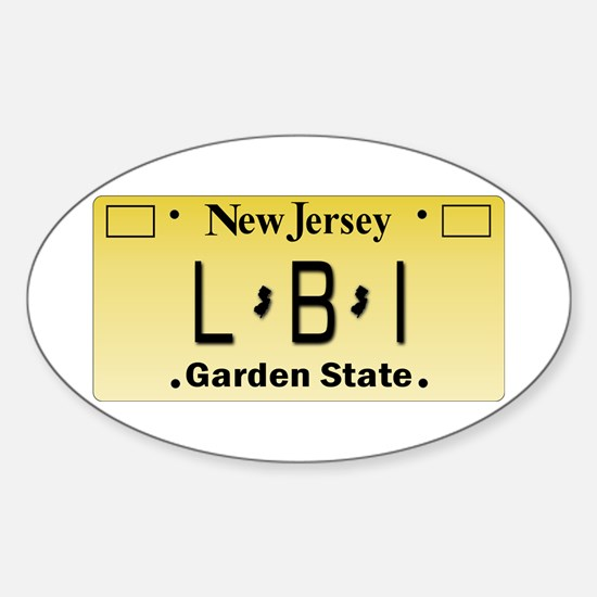 LBI NJ Tag Giftware Decal