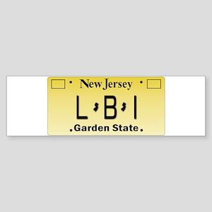 LBI NJ Tag Giftware Bumper Sticker