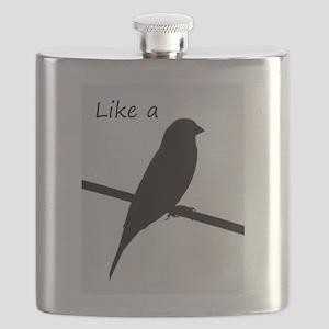Like a Bird on a Wire Flask