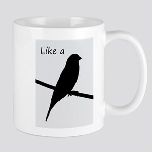 Like a Bird on a Wire Mugs
