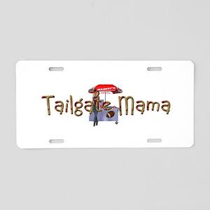 Tailgating Aluminum License Plate