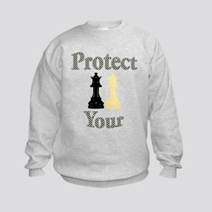 Protect Your Queen Kids Sweatshirt
