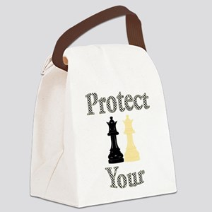 Protect Your Queen Canvas Lunch Bag