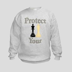 Protect Your King Kids Sweatshirt