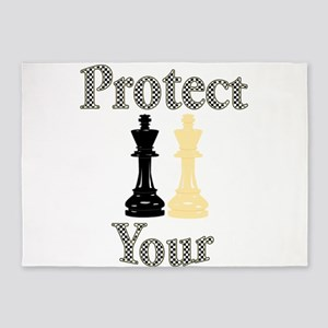 Protect Your King 5'x7'Area Rug
