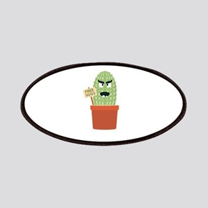Angry cactus with free hugs Patch