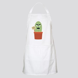 Angry cactus with free hugs Apron