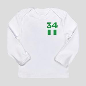 Team Nigeria - #34 Long Sleeve T-Shirt