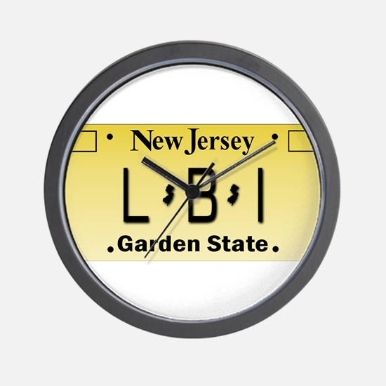 LBI NJ Tag Giftware Wall Clock
