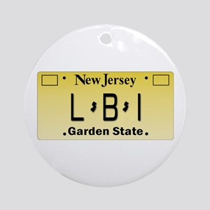 LBI NJ Tag Giftware Round Ornament