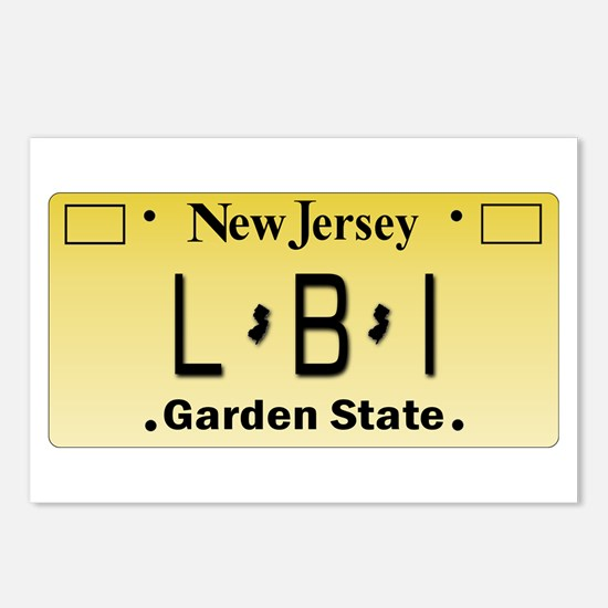 LBI NJ Tag Giftware Postcards (Package of 8)