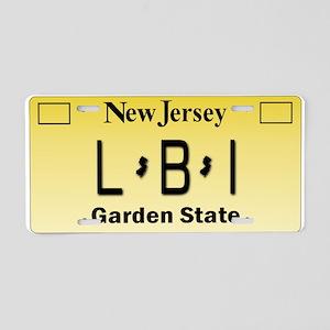 LBI NJ Tag Giftware Aluminum License Plate