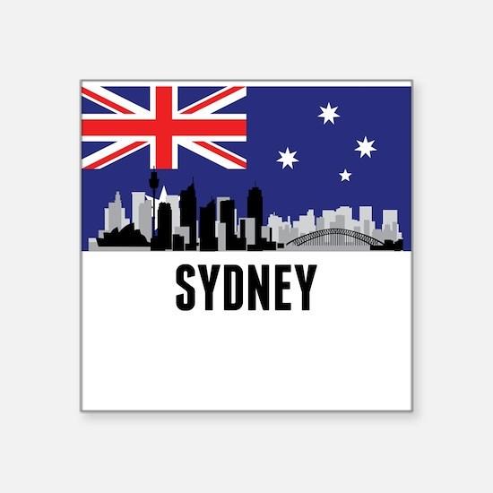 Sydney Australian Flag Sticker