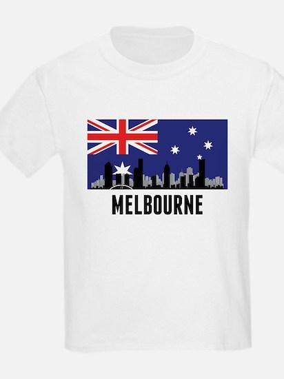 Melbourne Australian Flag T-Shirt