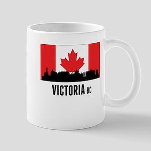 Victoria BC Canadian Flag Mugs