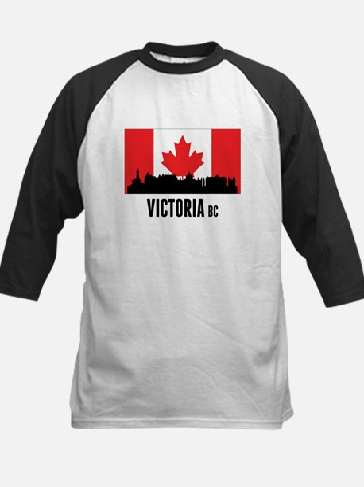 Victoria BC Canadian Flag Baseball Jersey