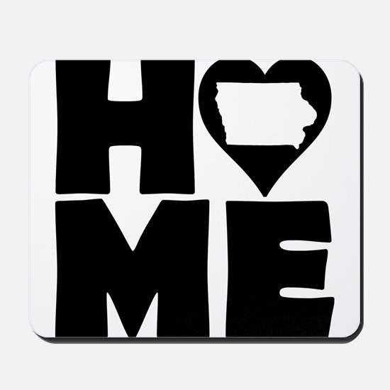 Iowa Home Tees Mousepad