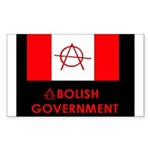 Anarchy Rectangle Sticker