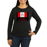 Anarchy Women's Long Sleeve Dark T-Shirt