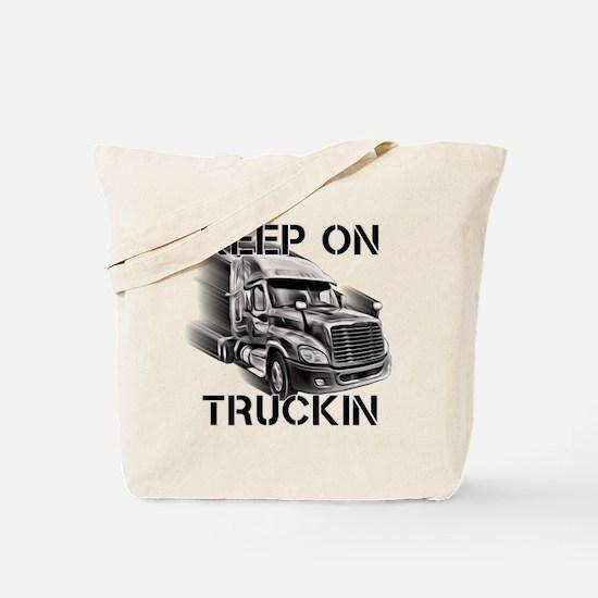 Keep on Trucking Tote Bag