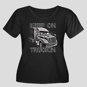 Keep on Trucking Plus Size T-Shirt